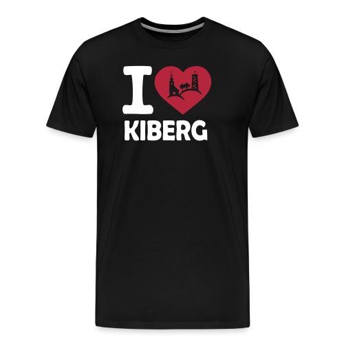 ilovekiberg detail - Männer Premium T-Shirt