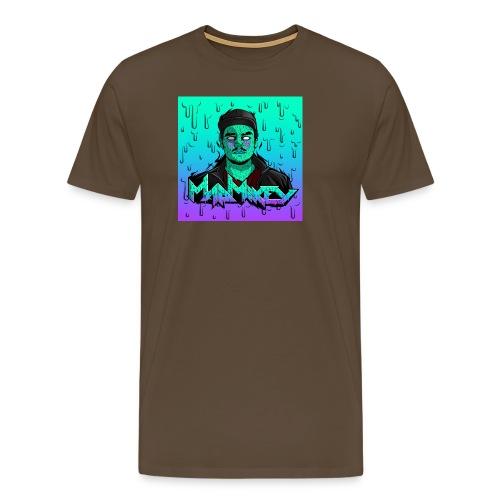 MadMikey Grime Art Sticky Green - Mannen Premium T-shirt