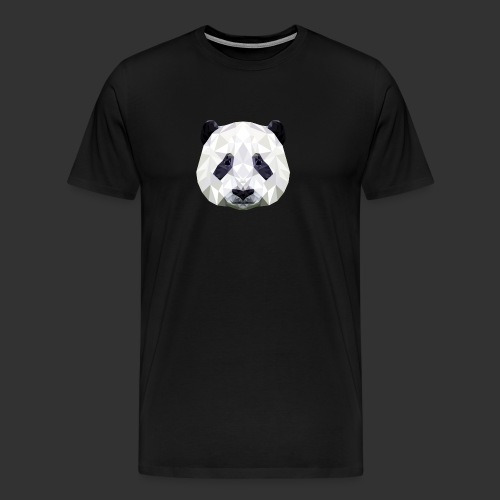 Panda Low Poly - T-shirt Premium Homme