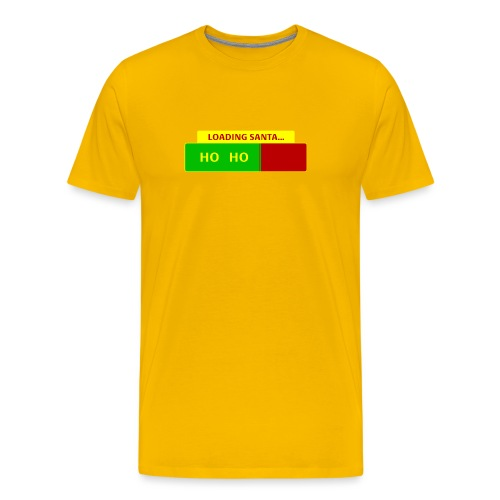 Loading Santa - Miesten premium t-paita