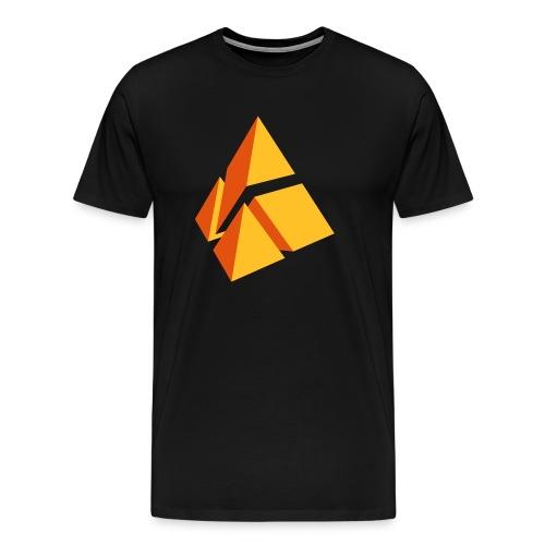 polymake Logo (2-farbig) - Men's Premium T-Shirt