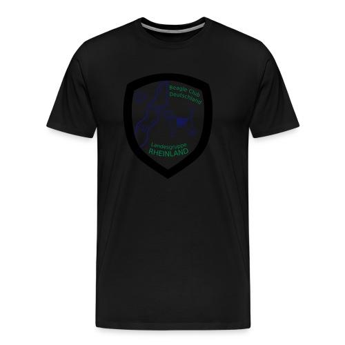 LG R Wappen drei farbig NEU - Männer Premium T-Shirt