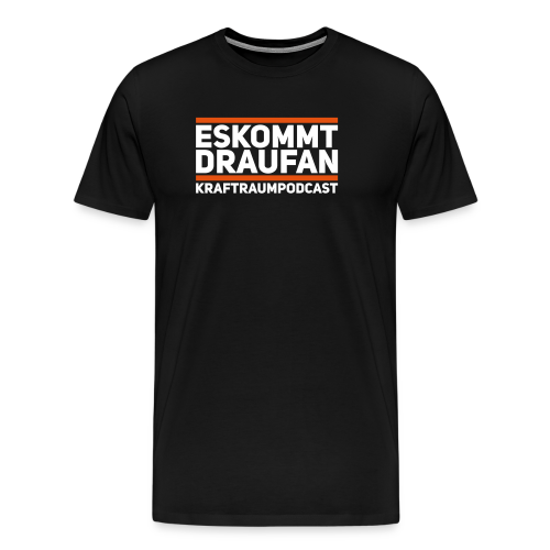 Es kommt drauf an - Männer Premium T-Shirt