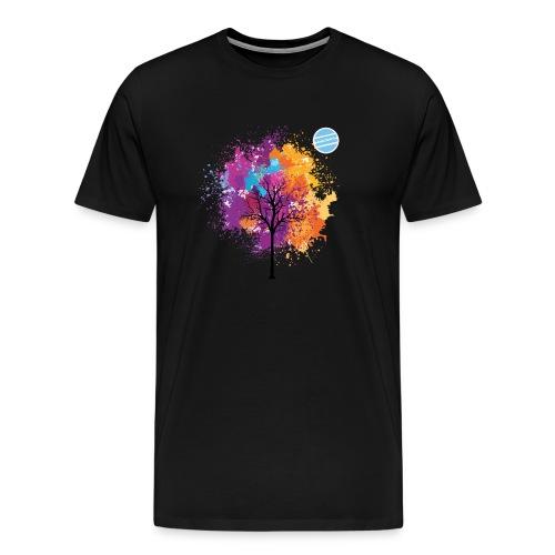 LOGO AUTUNNO BANCOMATTI - Maglietta Premium da uomo