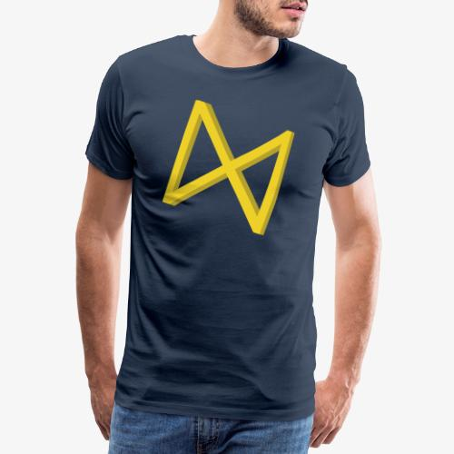 Rune Dagaz? Verdrehung von Extinction Rebellion? - Männer Premium T-Shirt