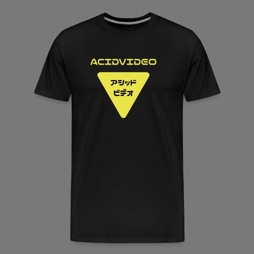 Acidvideo logo - Men's Premium T-Shirt