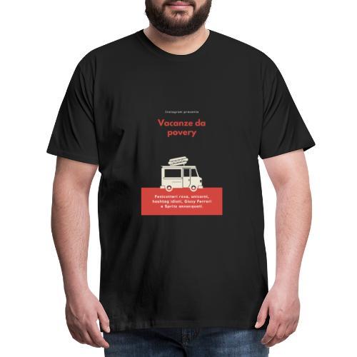 Povery - Maglietta Premium da uomo