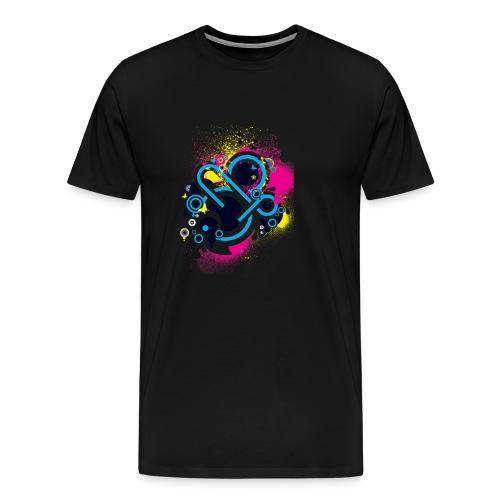 d3scene t shirt design front o by ezacx d3924g1 p - Mannen Premium T-shirt