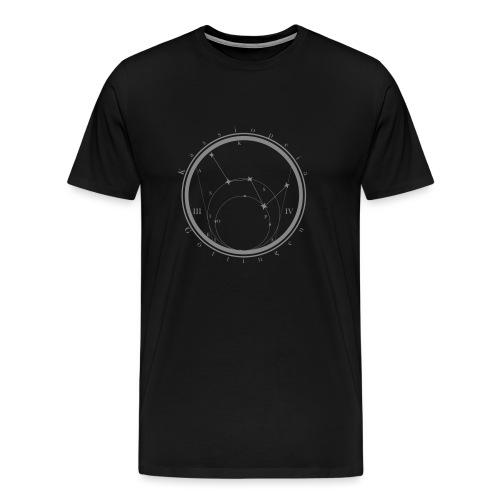Sternkarte neu v3dfvd - Männer Premium T-Shirt