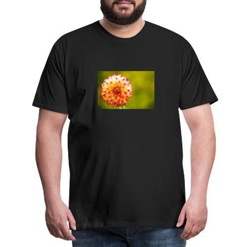 Blomst - Herre premium T-shirt