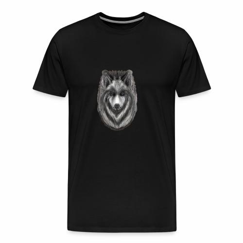 Foxy Wolf by Jon Ball - Men's Premium T-Shirt