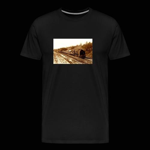 Dampflok BBÖ 12.10 - Männer Premium T-Shirt