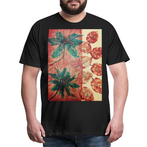 Herbstblumen - Männer Premium T-Shirt