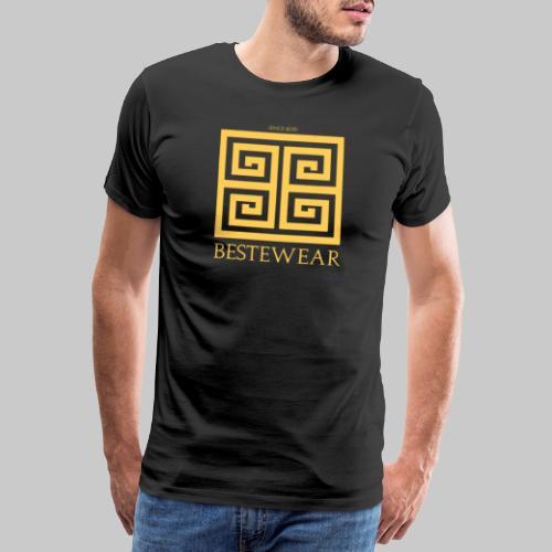 #Bestewear - Golden Snake - Männer Premium T-Shirt