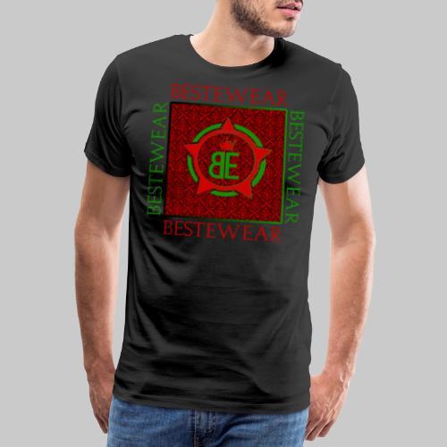 #Bestewear - Royal Line (Green/Red) - Männer Premium T-Shirt