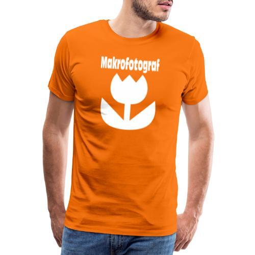 Icon Symbol Blume Makrofotografie Makrofotograf - Männer Premium T-Shirt
