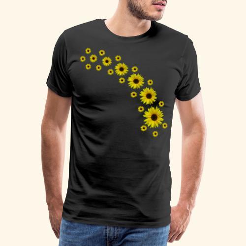 Sonnenblumen, Sonnenblume, Blumen - Männer Premium T-Shirt
