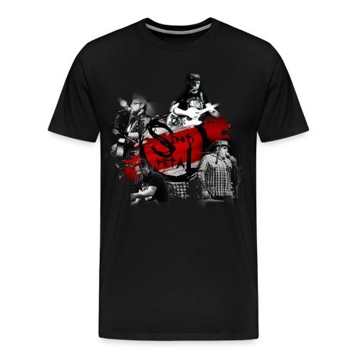 Senti-Metal Shirtdesign - Männer Premium T-Shirt