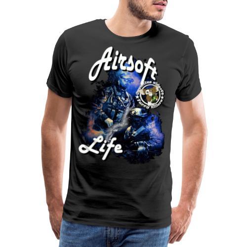 mikeairsoft - Herre premium T-shirt