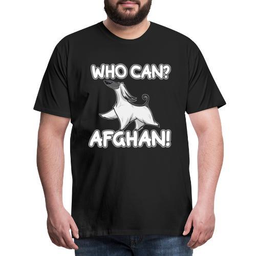 Who Can Afghan III - Miesten premium t-paita