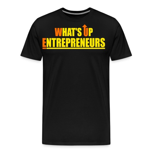 WHATS UP ENTREPRENEURS LOGO - Men's Premium T-Shirt