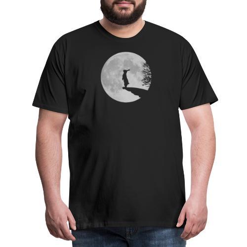 Wolfinchen hase kaninchen häschenosterhase bunny - Männer Premium T-Shirt