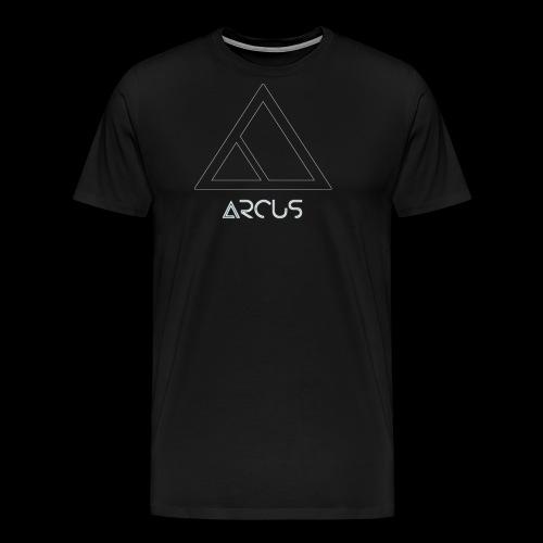 Arcus logo Blanc - T-shirt Premium Homme