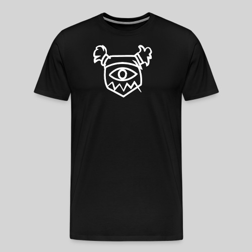 Tozfu White Logo - Men's Premium T-Shirt