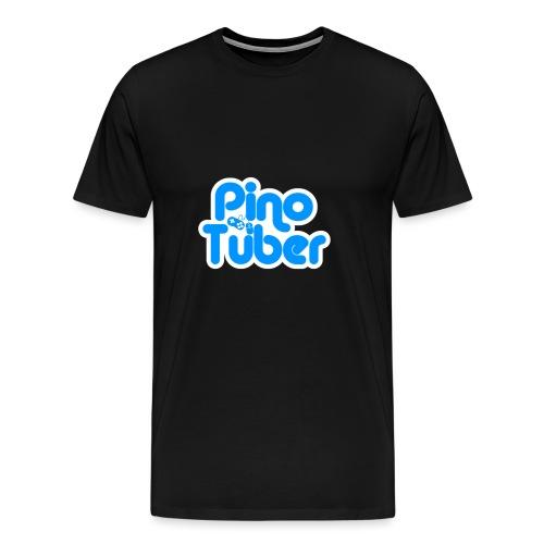 New logo Pinotuber - Mannen Premium T-shirt