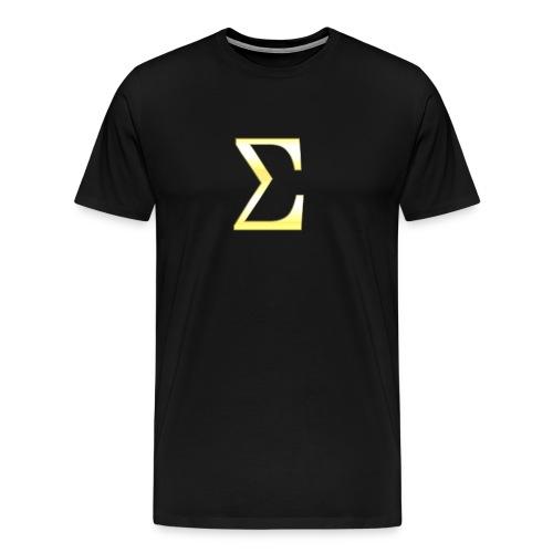 Sigma in Gold - Männer Premium T-Shirt