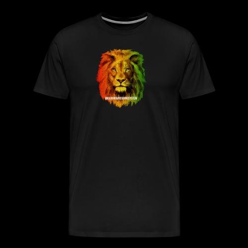 THE LION OF JUDAH - Männer Premium T-Shirt