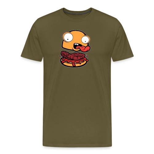 Crazy Burger - Camiseta premium hombre