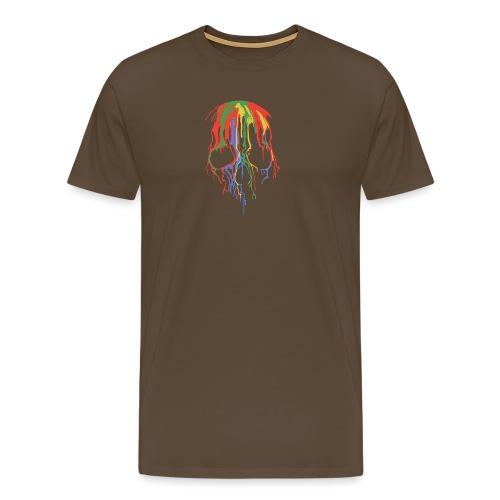 Skull and Colours - Camiseta premium hombre