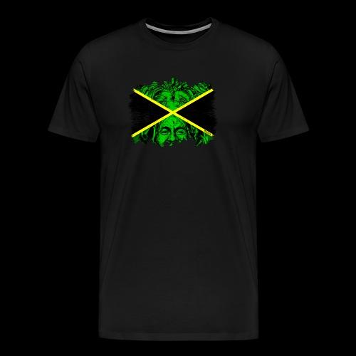 LION BOB JAMAICA - Männer Premium T-Shirt