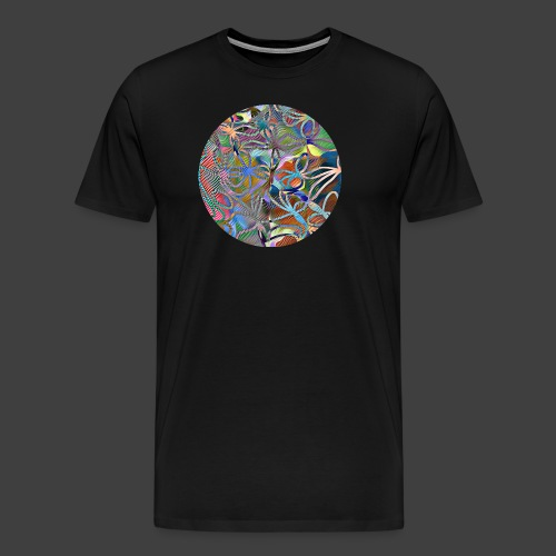 The joy of living - Premium-T-shirt herr