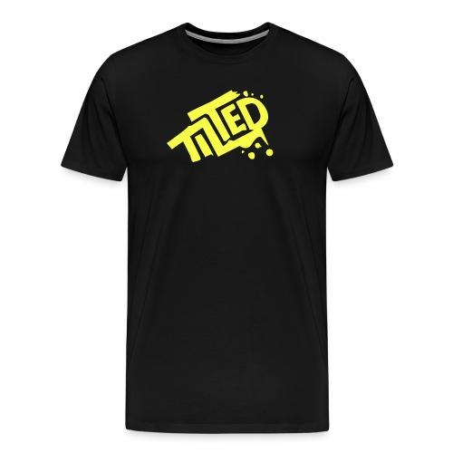 Fortnite Tilted (Yellow Logo) - Men's Premium T-Shirt