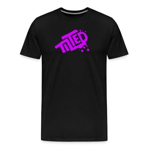 Fortnite Tilted (Pink Logo) - Men's Premium T-Shirt