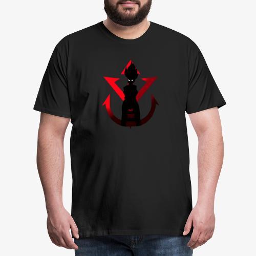 Saiyan MAN - Men's Premium T-Shirt