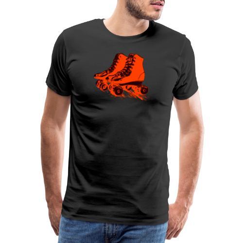 roller skates 78 - Männer Premium T-Shirt
