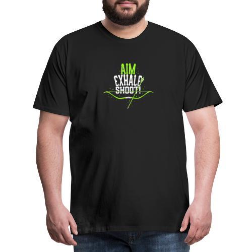 Bogenschütze - Männer Premium T-Shirt