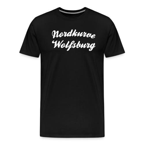 Nordkurve Wolfsburg - Männer Premium T-Shirt