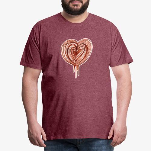 muscular pump transp - Men's Premium T-Shirt