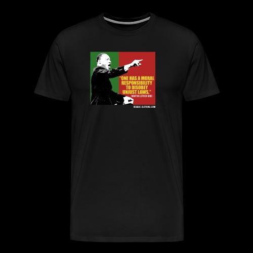 MARTIN LUTHER KING unjust laws - Männer Premium T-Shirt