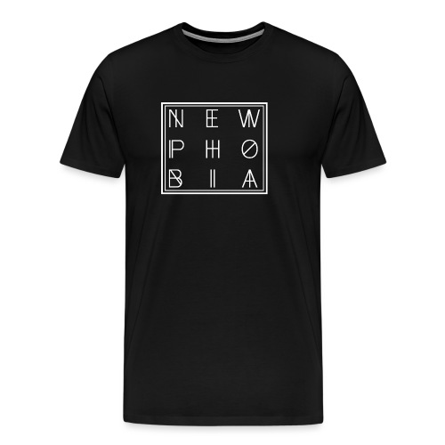 NEWPHOBIA LOGO - Herre premium T-shirt