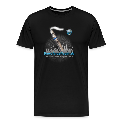 Dampferzuflucht - Männer Premium T-Shirt