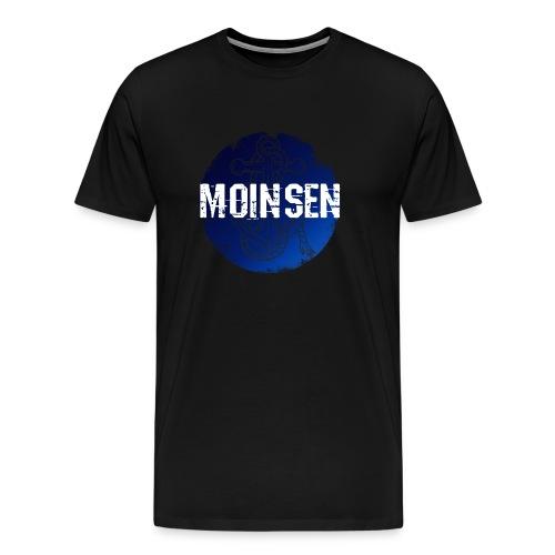 Norddeutsch Hamburg Spruchshirt Moin Moinsen - Männer Premium T-Shirt