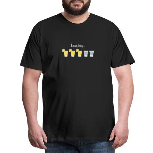 Tequila shots loading - Men's Premium T-Shirt