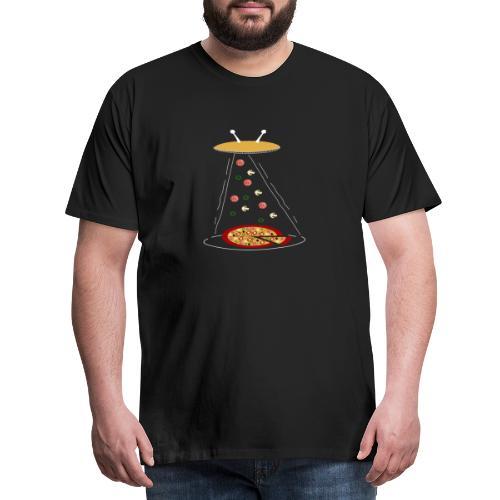 Pizza UFO divertente - Maglietta Premium da uomo