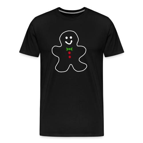 cookie man merry christmas - Camiseta premium hombre