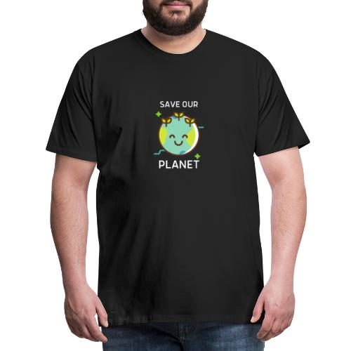 Save our planet - Men's Premium T-Shirt